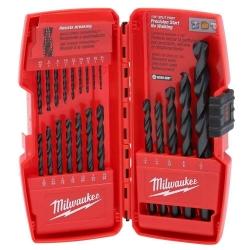 Combo Brocas 21 Piezas Black Oxide Milwaukee 48-89-2801