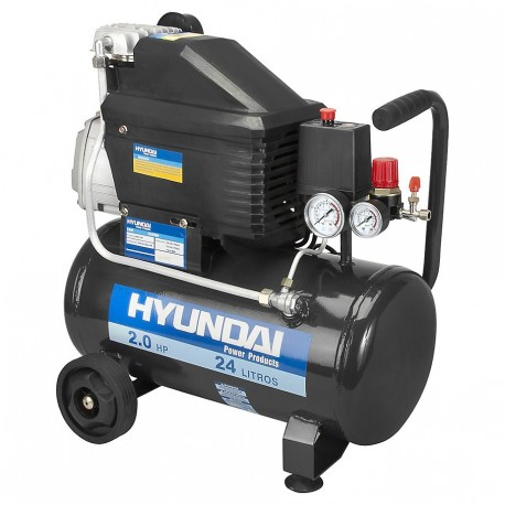 Compresor 2 hp 24 lts 115 psi HYUNDAI 78HYAC24D